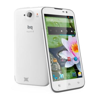 Smartphone BQ Aquaris Blanco y Negro 5 16GB