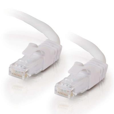 Cables2go 10M Blanco CAT6 PVC sin gancho UTP Patch CB