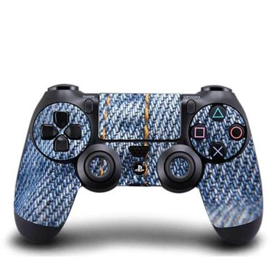 Skin Stickers Para Sony ps4 Controller (Sticker : Jeans Texture)