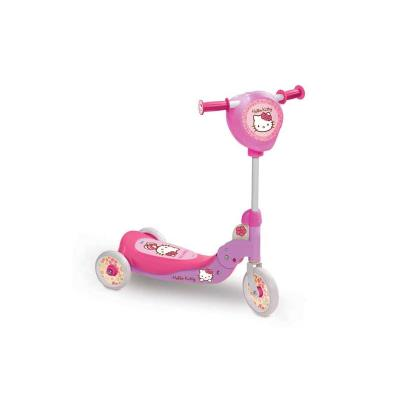Patinete Hello Kitty Plegable 3 Ruedas