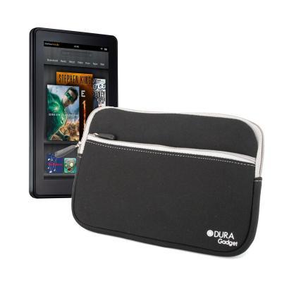 Funda Negera Resistente Al Agua Con Bolsillo Para El Nuevo Kindle Fire Y Kindle Fire HD Por DURAGADGET