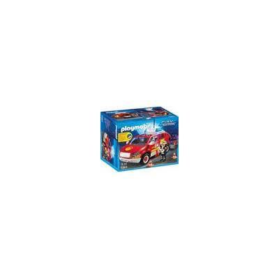 Playmobil City Action 5364 - Coche Jefe de Bomberos con Luces y sonido