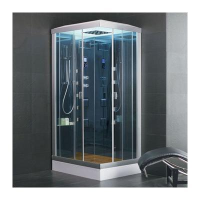 Cabina ducha hidromasaje con sauna eco de inspiration - Cabina ducha sauna ...