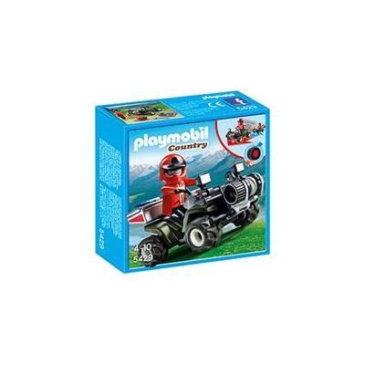 Playmobil 5429 Quad de rescate de montaña