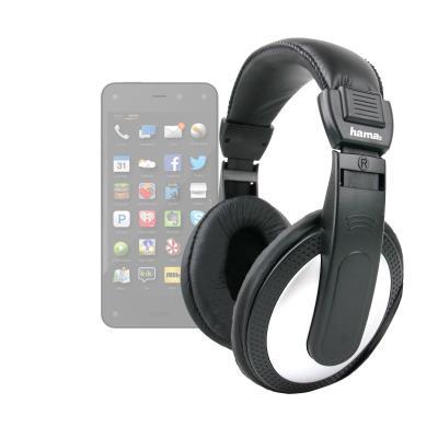 DURAGADGET Auriculares Estéreo Negros Para El Nuevo Smartphone Amazon Phone Fire - De Alta Calidad Con Cable De 2 Metros -Disponib