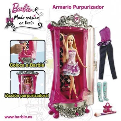 Barbie, Armario Purpurizador