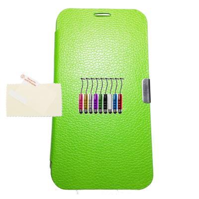 Funda libro VERDE MX1 Samsung Galaxy Gran Neo i9082 + 1 Protector + 1 Lapiz