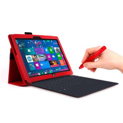Funda atril roja dise ada para el tablet microsoft surface - Atril para tablet ...