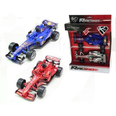 Pack 2 coches fomula racing 1:20