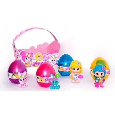 Pinypon, Cesta 4 Huevos(1 Figura y 3 Pets)