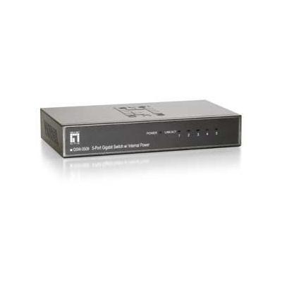 LevelOne GSW-0509 Gigabit Switch 5-Port