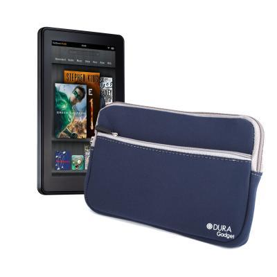Funda Azul Resistente Al Agua Con Bolsillo Para El Nuevo Kindle Fire Y Kindle Fire HD Por DURAGADGET