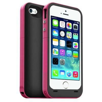 Funda bateria iphone 5 5s 2200mah color rosa en for Funda bateria iphone