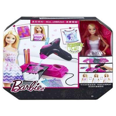 Barbie aerografo diseños fashion