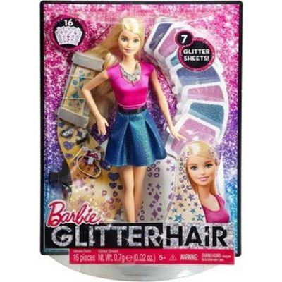 Barbie mechas purpurina