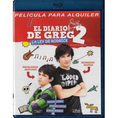 El Diario De Greg 2 La Ley De Rodrick Blu Ray Diary
