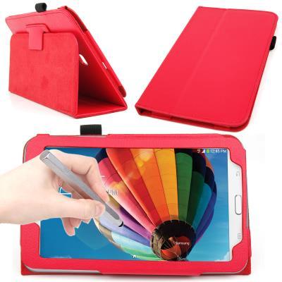 Funda atril stand roja para samsung galaxy tab 3 7 0 - Atril para tablet ...