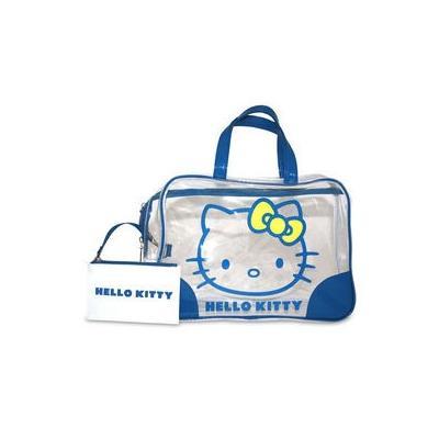 Bolso Transparente Azul Hello Kitty