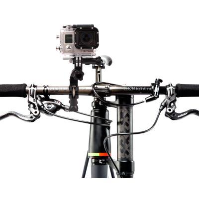 DURAGADGET Soporte/Montura Para Manillar De Bicicleta Diseñada Para Cámara GoPro Hero 3+ / 3 / 2 / 1 - Sujección Perfecta