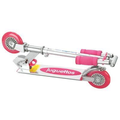 Juguettos Patinete 2 Ruedas Aluminio Rosa