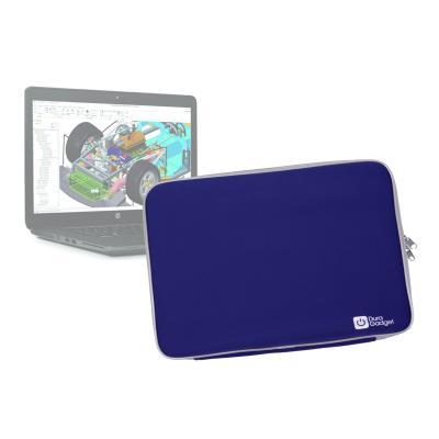Funda De Neopreno Azul Para HP Zbook 15u - ¡Máxima Protección Para Su Ordenador! - ¡Resistente Al Agua! Por DURAGADGET
