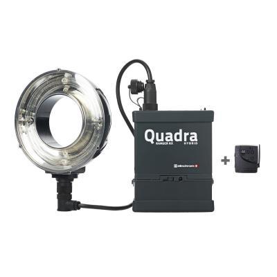 Elinchrom Set Ranger Quadra Hybrid Li-Ion Ringflash Eco