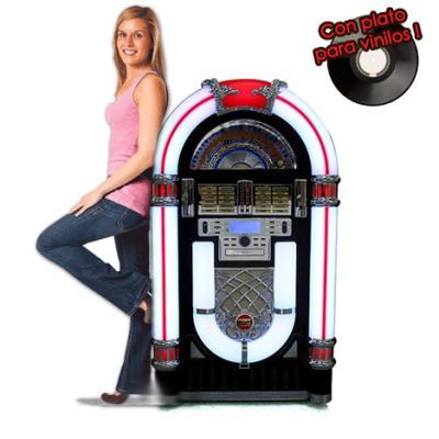 Jukebox sinfonola o rockola con plato para vinilo radio - Plato discos vinilo ...