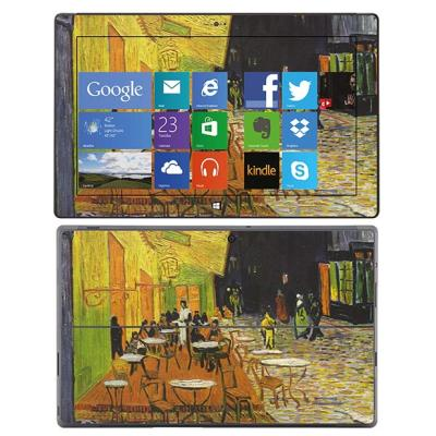 Skin Stickers Para Microsoft Surface pro (Sticker : Terrasse du Cafe le Soir)