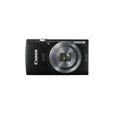 "Camara Digital Canon Ixus 160 Negra 20mp Zoom 16x/ Zo 8x/ 2.7"" Litio/ Videos hd/ Modo Eco/ Kit Funda/ Tarjeta 8gb"
