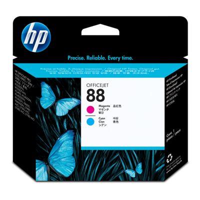 HP Cabezal de impresión magenta y cian Officejet HP 88