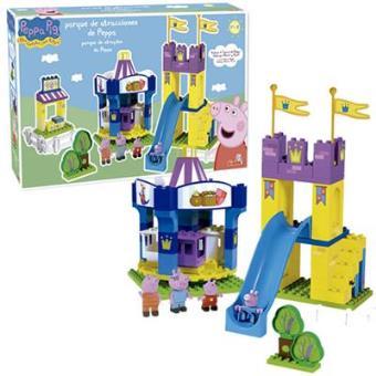 Parque atracciones peppa pig juego de construcci n for Huevera construccion precio