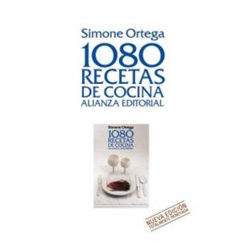 1080 recetas de cocina nueva edici n 2011 simone ortega for Precio cocina nueva