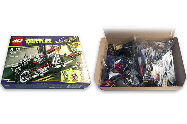 Les tortues ninja d barquent en force chez lego conseils d 39 experts fnac - Mechant tortues ninja ...