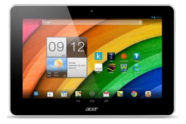 Tablette Acer Iconia A une tablette  low cost et seduisante cp w