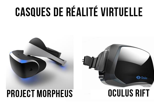 sony tacle l 39 oculus rift avec project morpheus casque ps4 de r alit virtuelle explications. Black Bedroom Furniture Sets. Home Design Ideas