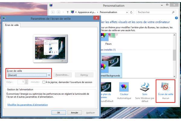 windows 8 comment optimiser la gestion de l 39 alimentation de votre ordinateur conseils d. Black Bedroom Furniture Sets. Home Design Ideas