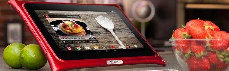 j 39 ai cuisin avec la tablette tactile qooq v3 conseils d 39 experts fnac. Black Bedroom Furniture Sets. Home Design Ideas