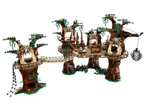 village ewok toujours plus vaste la gamme lego star wars