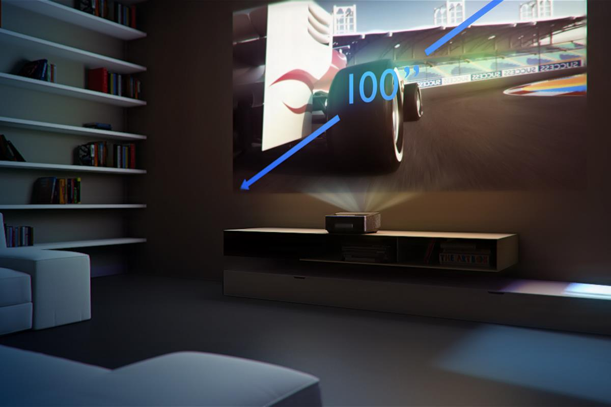 Philips Screeneo Un Vid 233 Oprojecteur Led Sous Android