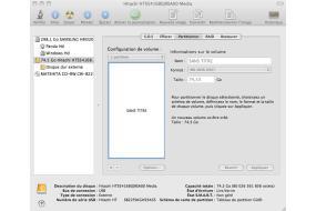 Comment rendre un disque dur compatible pc et mac for Mac fenetre hors ecran
