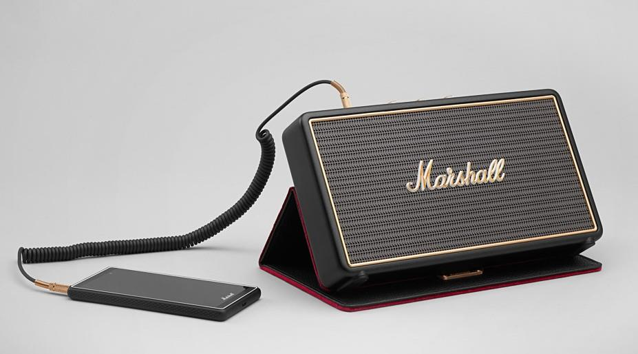 marshall stockwell l 39 enceinte bluetooth de voyage qui. Black Bedroom Furniture Sets. Home Design Ideas