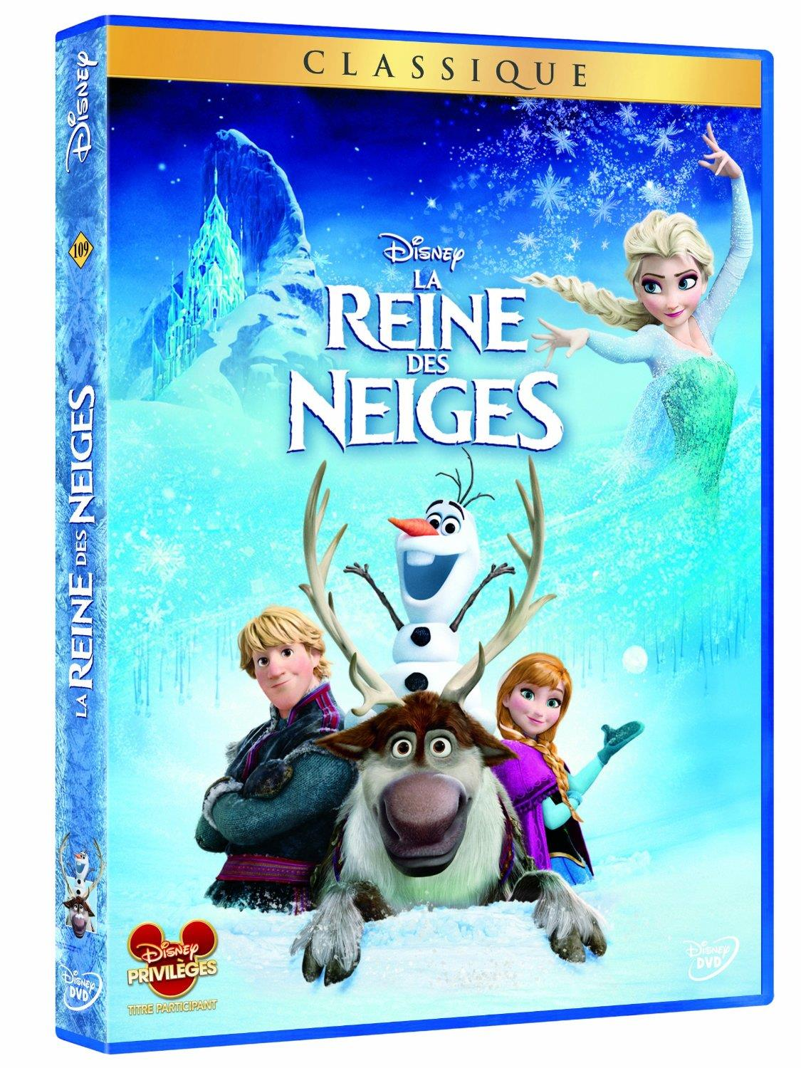 dvd reine neiges