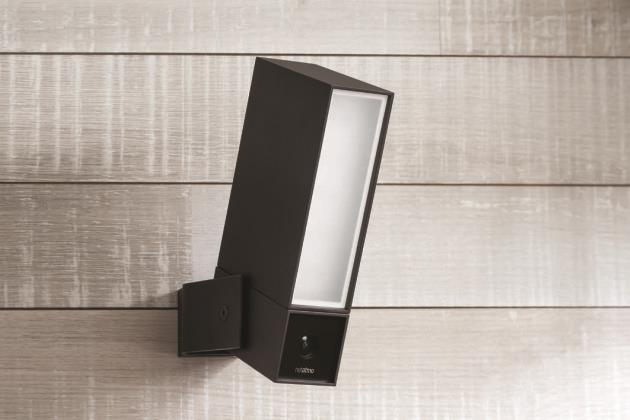 presence de netatmo le lamapdaire ext rieur avec vid osurveillance. Black Bedroom Furniture Sets. Home Design Ideas