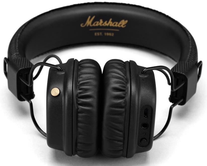 casque audio le major ii de marshall passe au bluetooth. Black Bedroom Furniture Sets. Home Design Ideas
