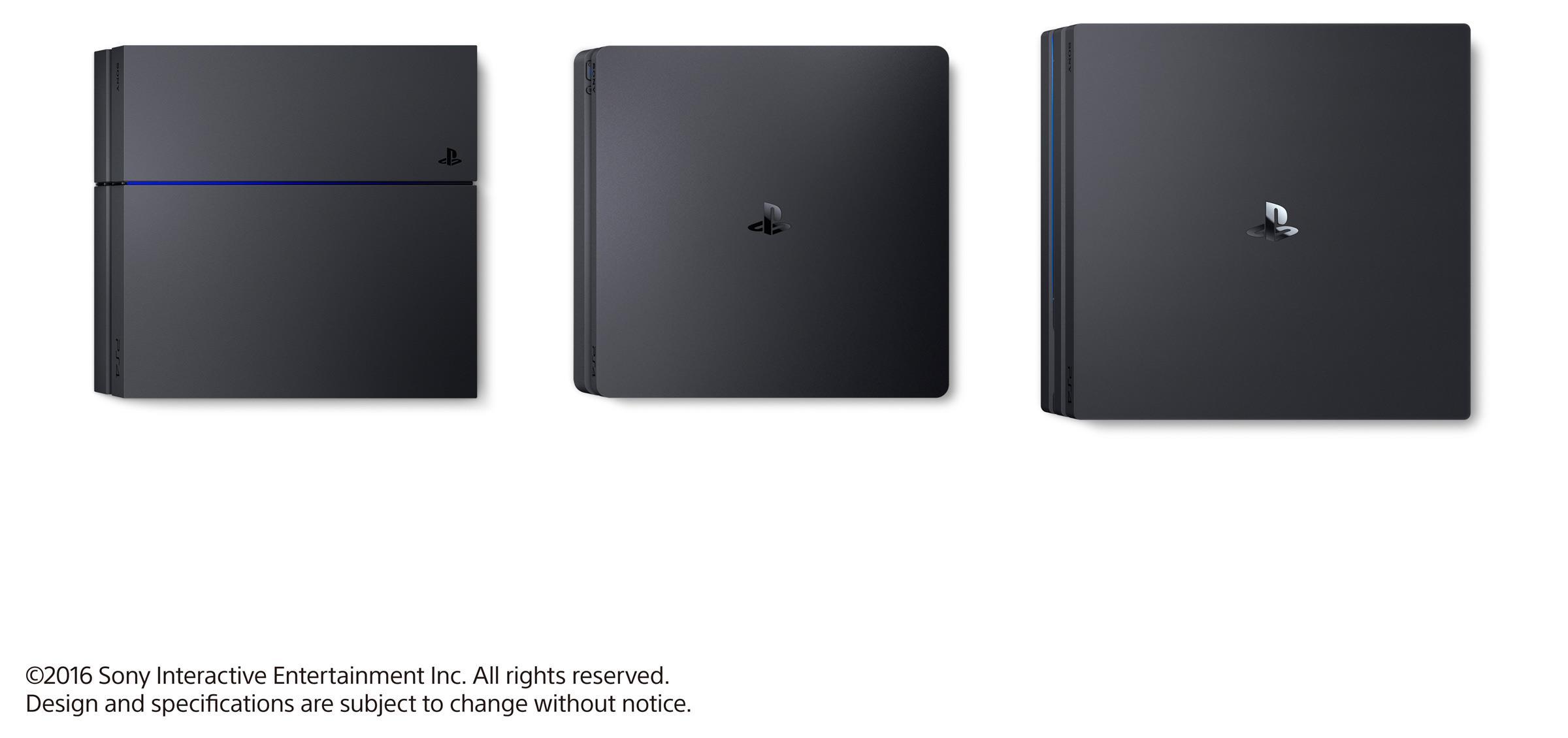 PlayStation4 comparaison