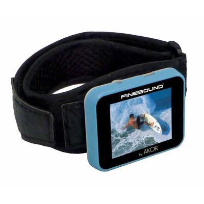 Lecteur MP4 - 4 Go SPORT + BRACELET. Écoutez & visionnez vos musiques, vidéos et photos préférées grâce à ce baladeur MP4. Écran 1,8´, lecture de films , photos, diaporama, dictaphone. Écouteurs stéréo, cordon USB, CD d´installation. Batterie lithium rech