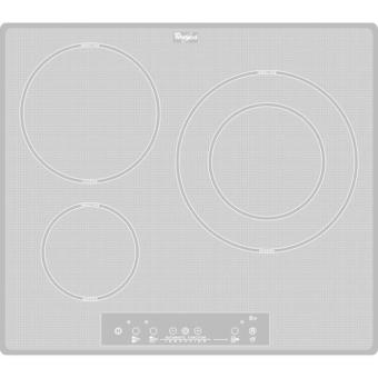 Table induction whirlpool acm680newh achat prix fnac - Table a induction whirlpool ...