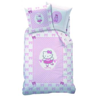 parure de lit hello kitty elisa housse de couette r versible 140 x 200 cm top prix fnac. Black Bedroom Furniture Sets. Home Design Ideas