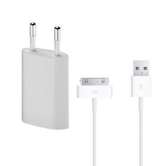 Lapinette chargeur secteur cable usb apple iphone 4 4s achat prix fnac - Chargeur iphone 6 fnac ...