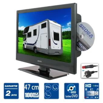 sedea tv camping car combo dvd 47cm achat prix fnac. Black Bedroom Furniture Sets. Home Design Ideas